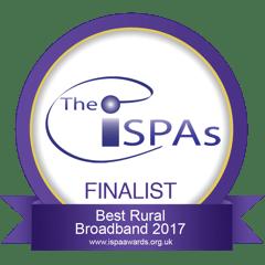 ISPAs finalist: Best Rural Broadband 2017