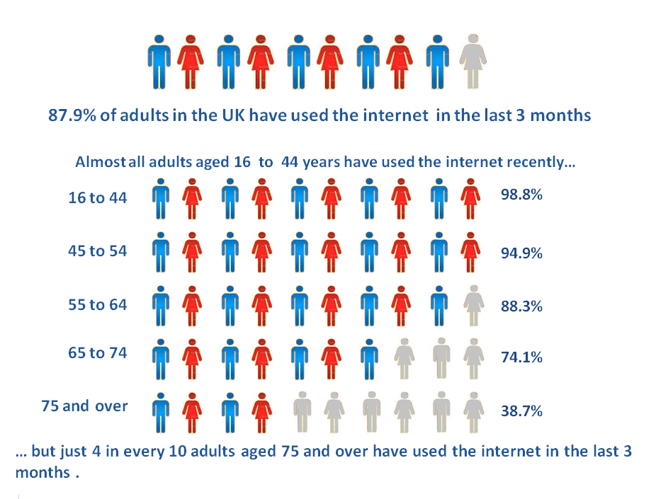 UK adult internet users